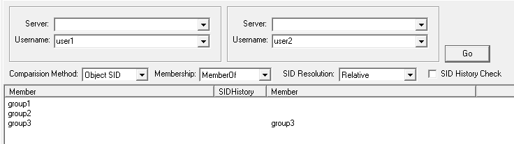 group-compare member