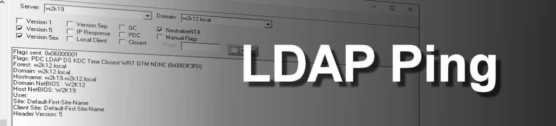 LDAP Ping