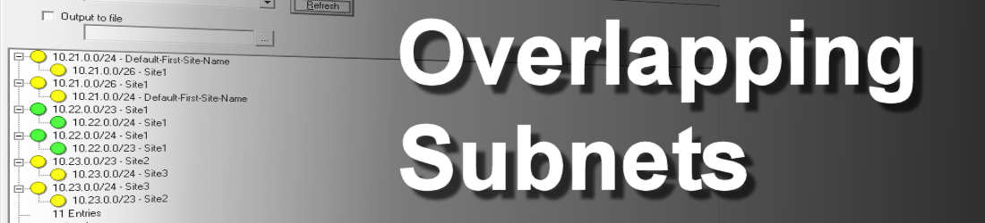 Overlapping Subnets